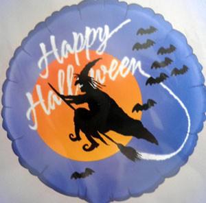 Folienballon Happy Halloween