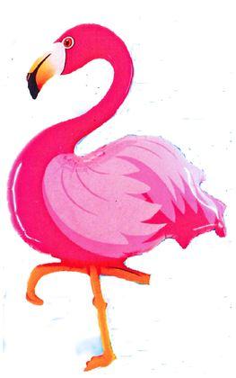 Folienballon Flamingo
