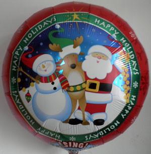 Singender Ballon Weihnachten