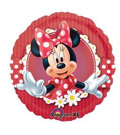 Folienballon MinnieMouse rot