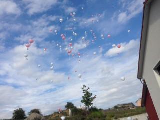 Ballonweitflug Hochzeit