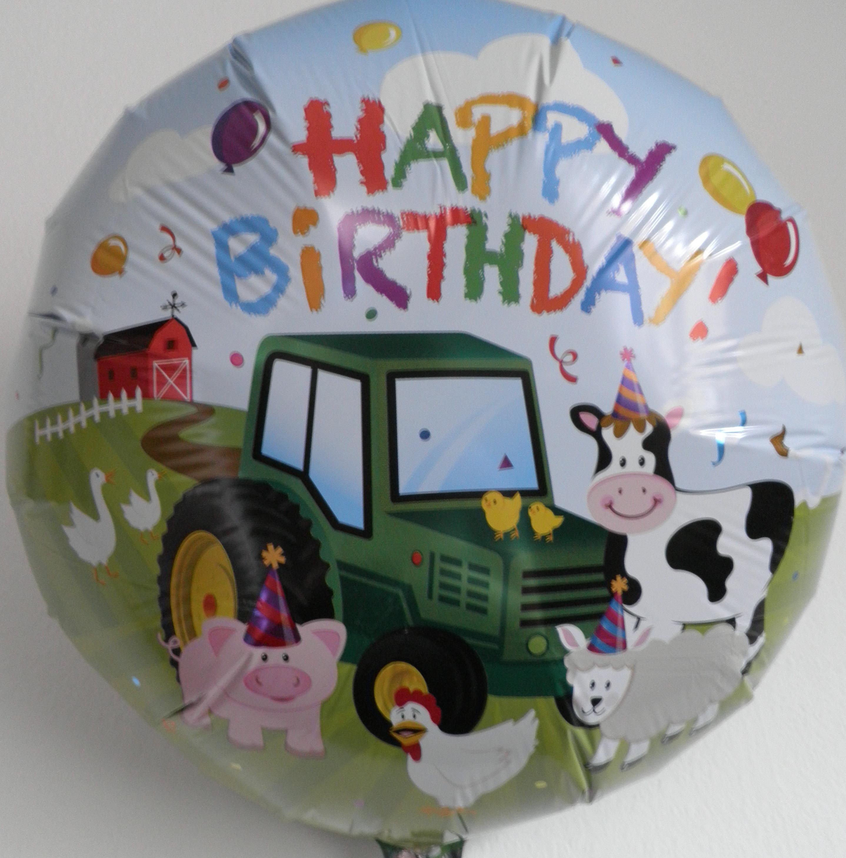 Folienballon Bauernhof
