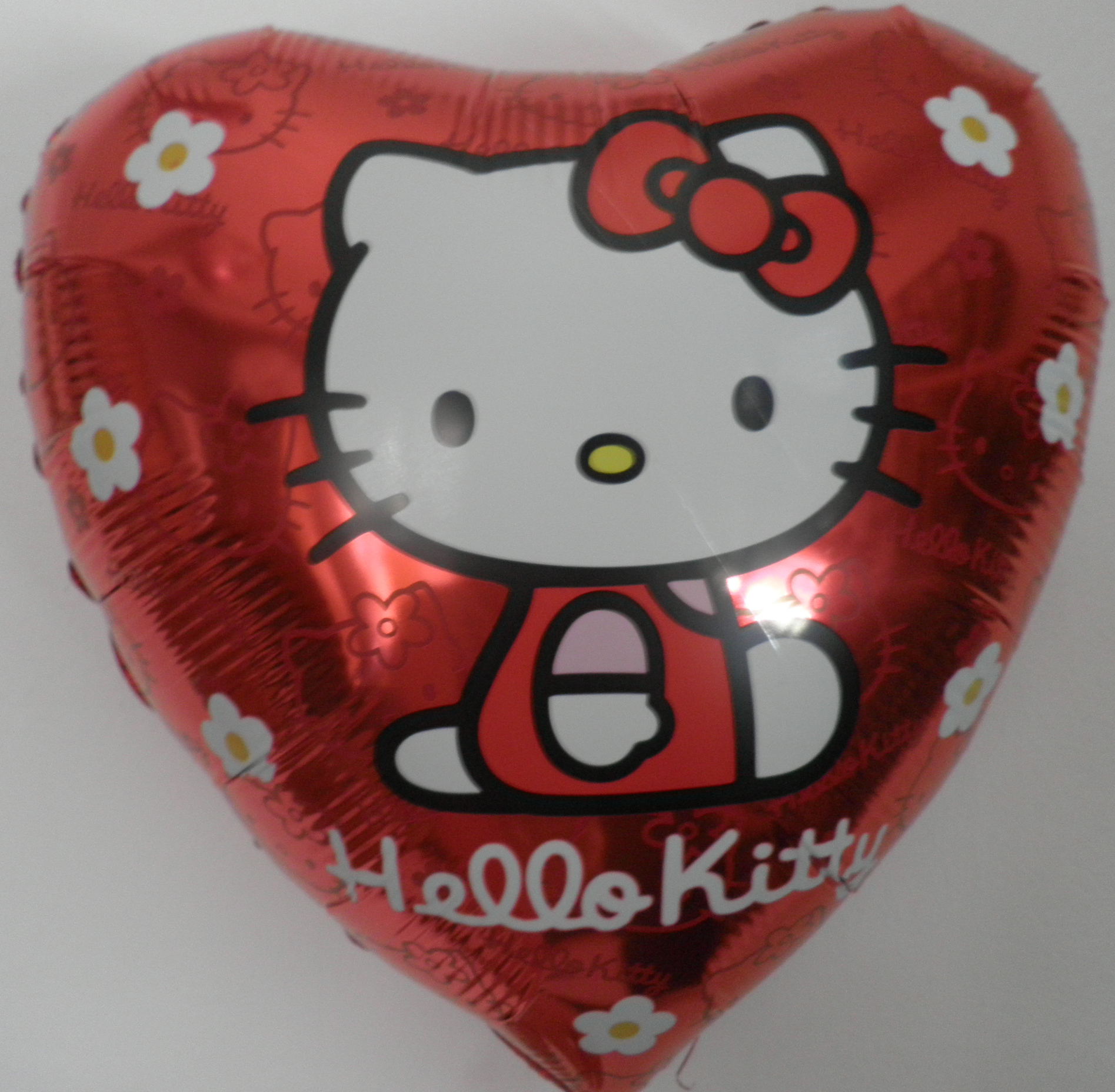 Folienballon Hello Kitty Rot