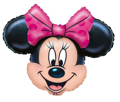 Folienballon Minnie Mouse Kopf