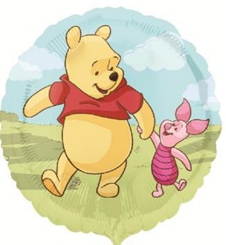 Folienballon Winnie Pooh and Friend