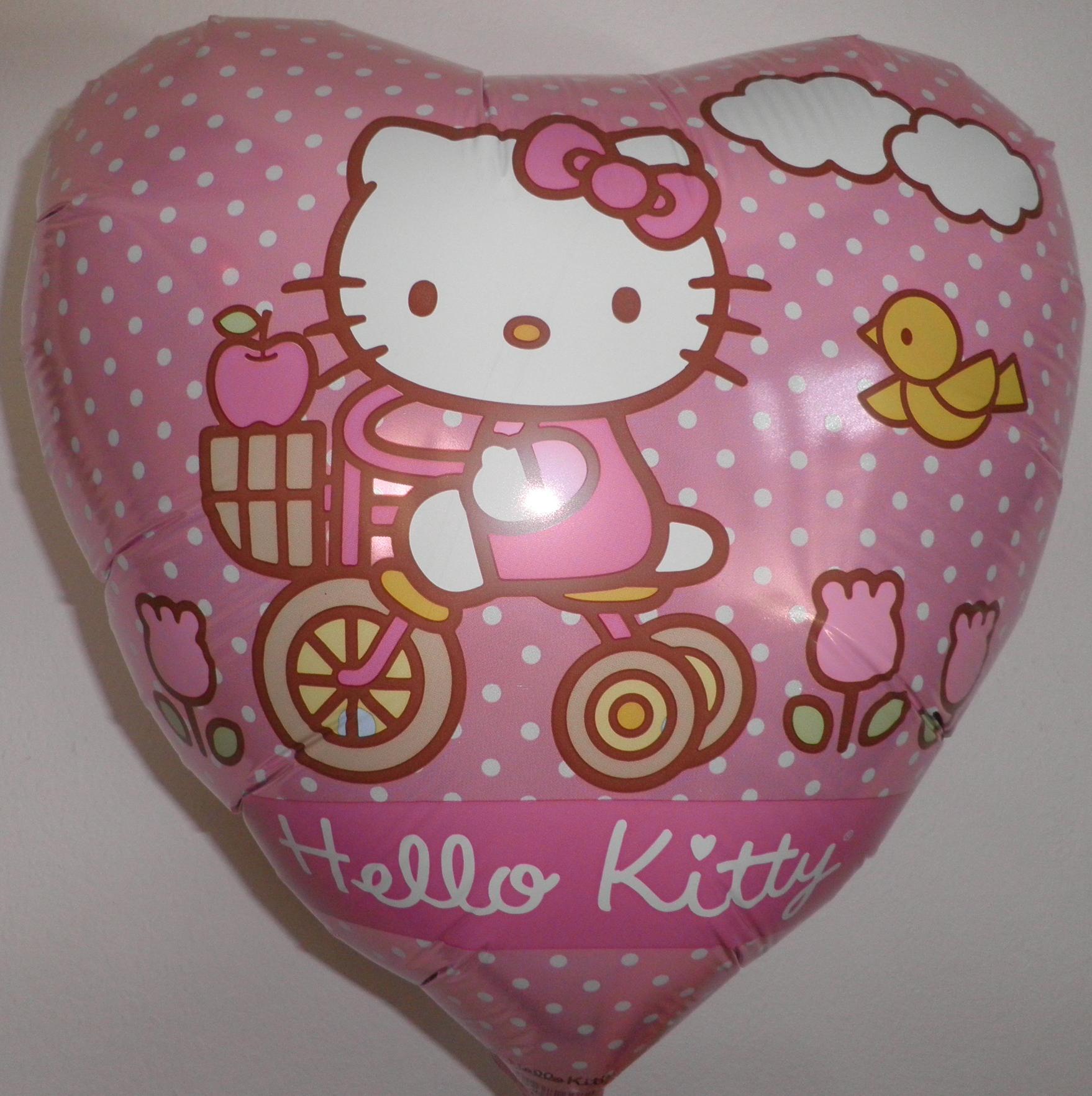 Folienballon Hello Kitty Ausflug