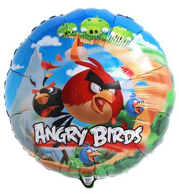 Folienballon Angry Birds