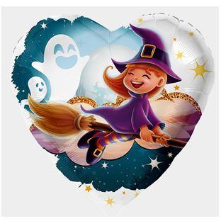 Folienballon Kleine Hexe
