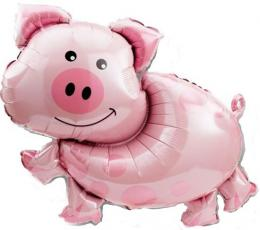 Folienballon Schwein