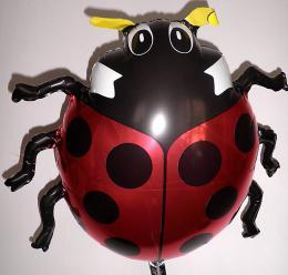 Folienballon Glückskäfer