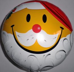 Folienballon Smiley Nikolaus