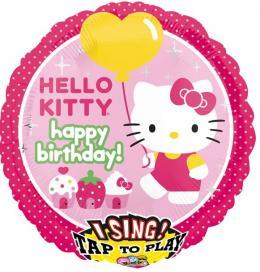 Singender Ballon Hello Kitty