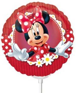 Miniballon auf Stab Minnie