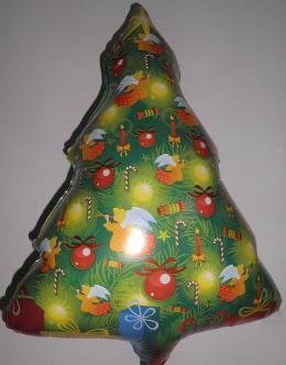 Folienballon Weihnachtsbaum2