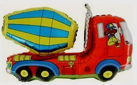 Folienballon Betonmischer