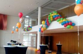 Ballongirlande & Heliumdeko