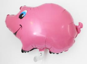 Folienballon Schweinchen