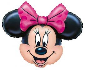 Folienballon Minnie Mouse Kopf