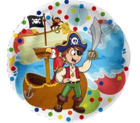 Folienballon Pirat