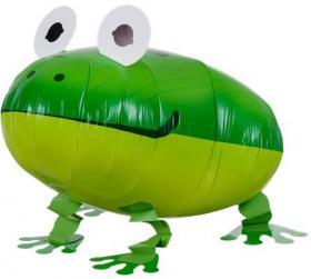 Folienballon Frosch Airwalker