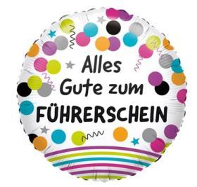 Folienballon Führerschein