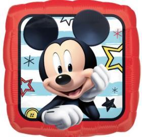 Folienballon Mickey eckig