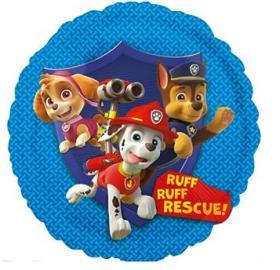 Folienballon Paw Patrol2 rund