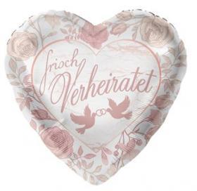 Foienballon Frisch verheiratet