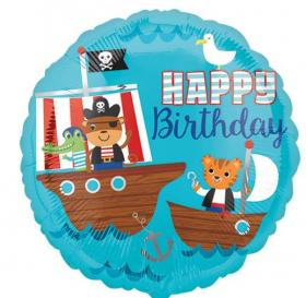 Folienballon HB Pirat