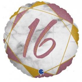 Folienballon 16 rosa