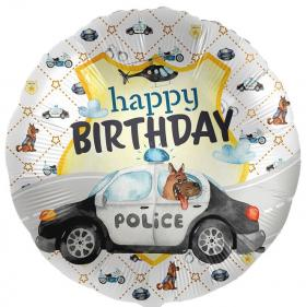Folienballon HB Polizei