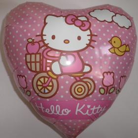 Folienballon Hello Kitty Ausflug