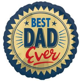 Folienballon Best Dad Ever
