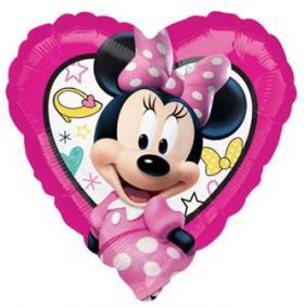 Folienballon MinniMouse Herz