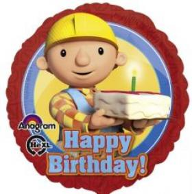 Folienballon Bob HB Torte