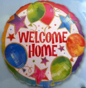 Folienballon Welcome Ballons
