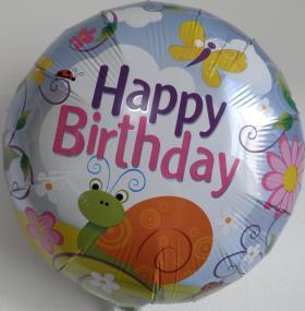 Folienballon Schnecke