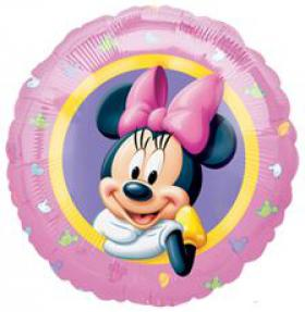 Folienballon MinnieMouse rosa