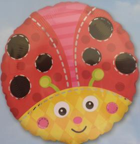 Folienballon Marienkäfer
