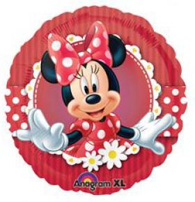 Folienballon MinnieMouse rot