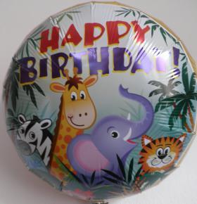 Folienballon Dschungel2