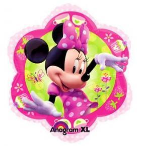 Folienballon MinniMouse Blume