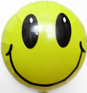 Folienballon Smiley