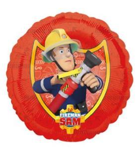 Folienballon Sam Feuerwehrmann