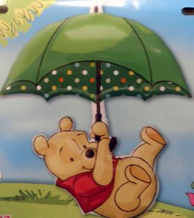 Folienballon Winnie Pooh Schirm