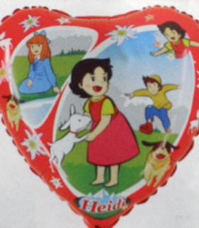Folienballon Heidi