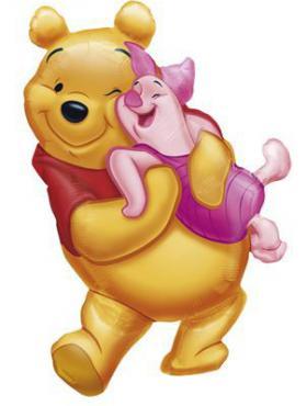 Folienballon Pooh Form Hug