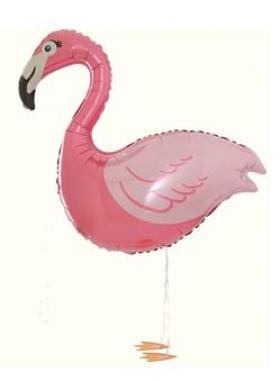 Folienballon Flamingo Airwalker