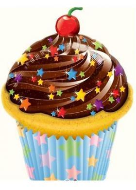 Folienballon Muffin 1
