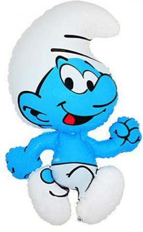 Folienballon Schlumpf Figur